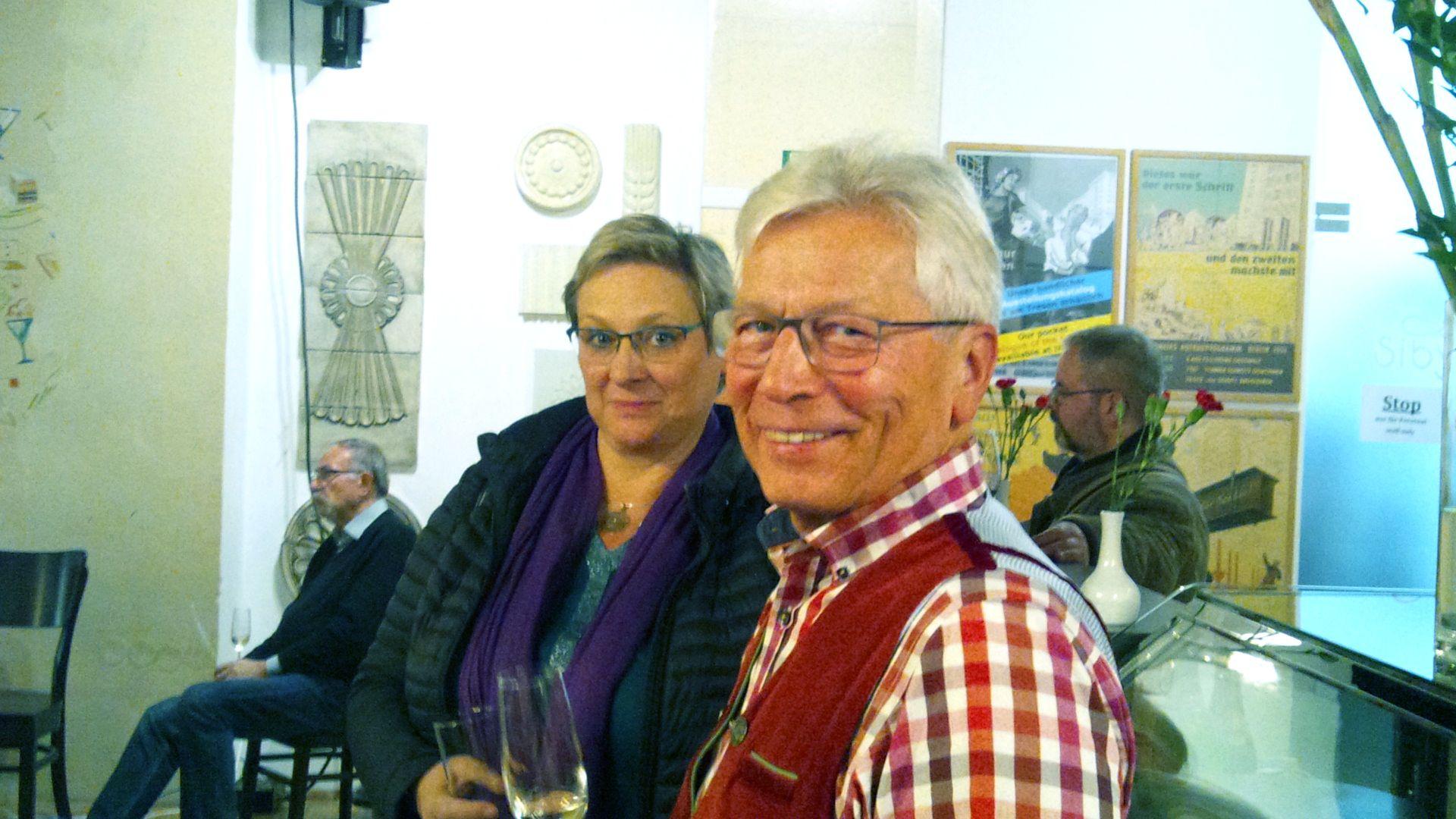 Iris Lier und Norbert Bogedein