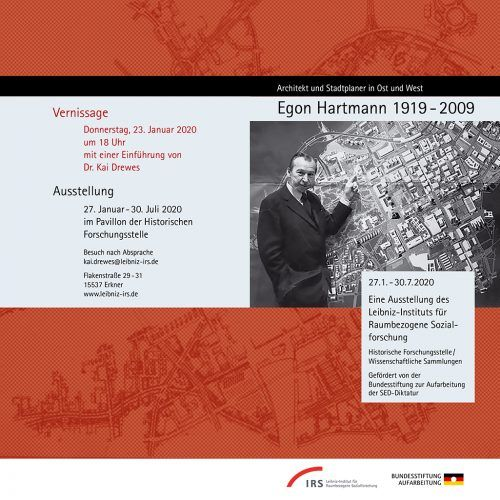 Egon Hartmann (1919-2009) – Architekt und Stadtplaner in Ost und West