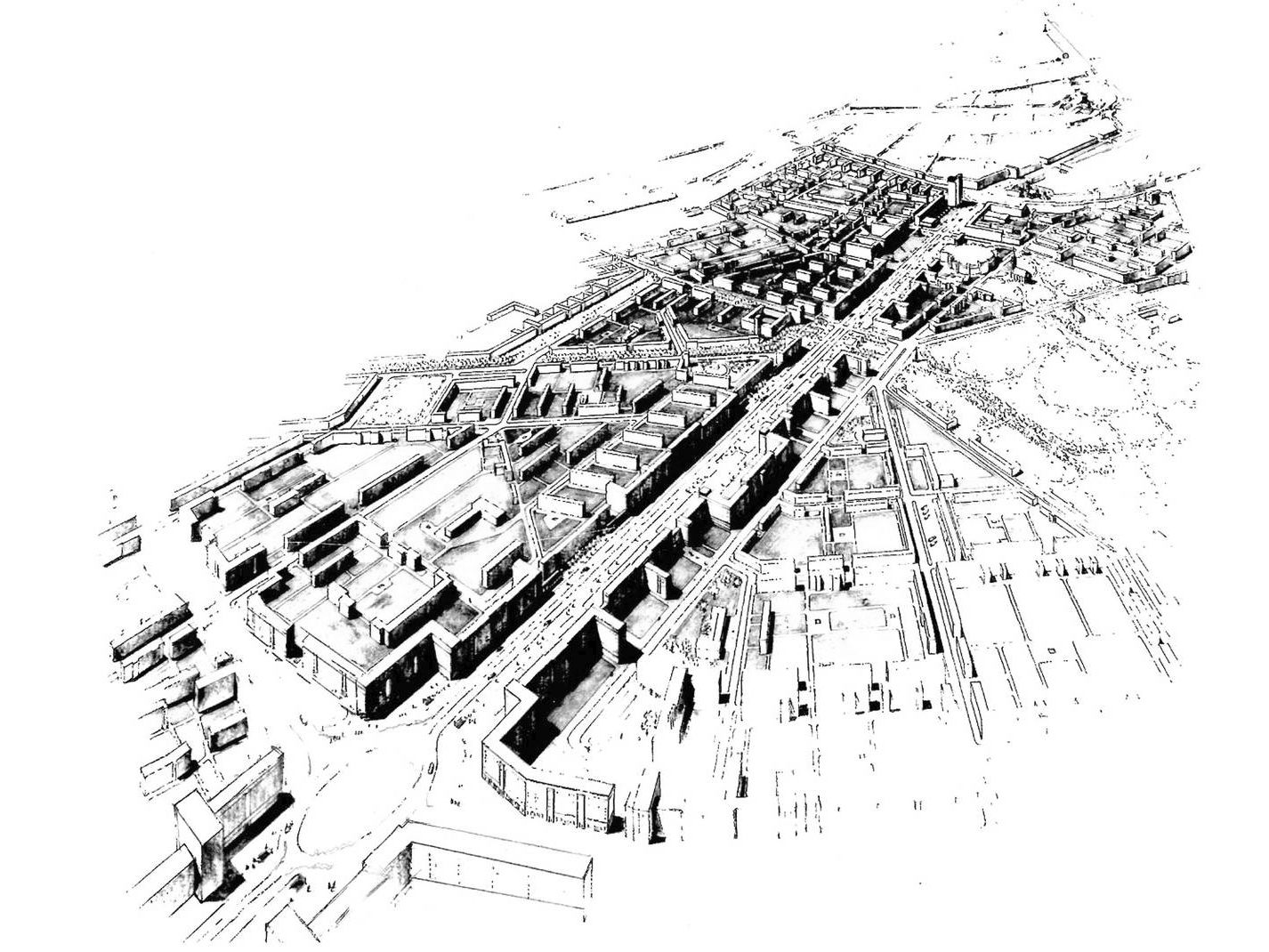 Stalinallee: Gestaltungsentwurf von Egon Hartmann