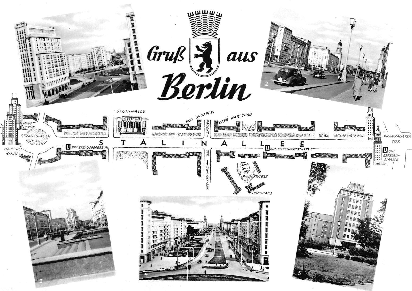 Gruß aus Berlin, Postkarte