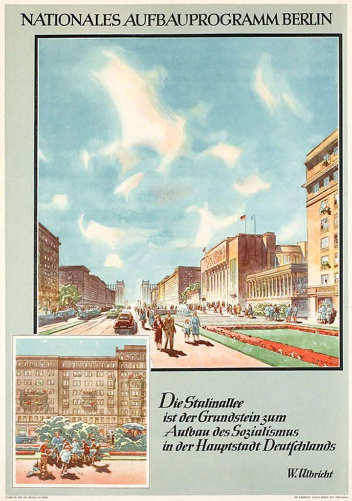 Nationales Aufbauprogramm Berlin, Plakat