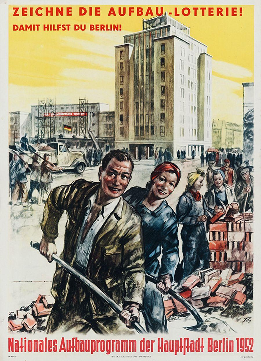 Aufbau-Lotterie 1952