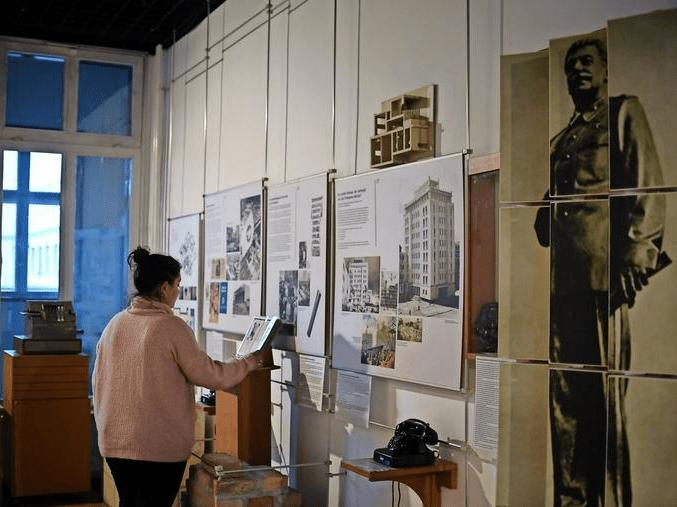 Blick in die einstige Ausstellung