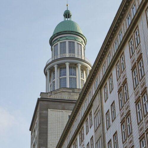 Süd-Turm und F-Süd (Hermann Henselmann und Karl Souradny)
