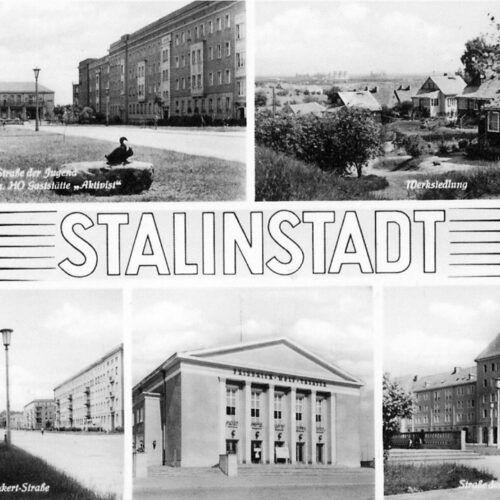 »Sozialistische Stadt« und internationales Kulturerbe